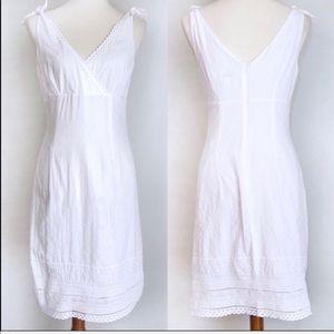 Lilly Pulitzer White Eyelet Sleeveless Dress